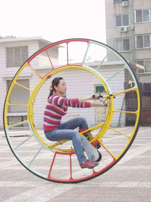 17 Odd Wheeled Vehicles