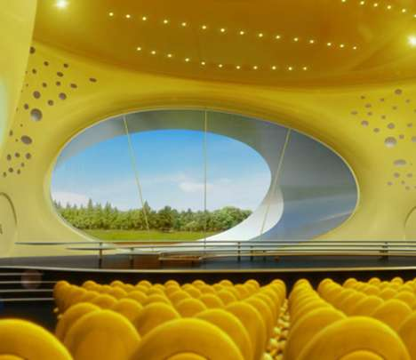 Giant Cheese Concert Hall