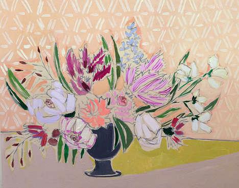 Vintage Floral Artwork