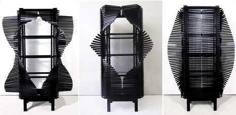Sculpturally Rotating Furniture