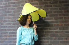 Compact Unbreakable Umbrellas - This Umbrella Design Keeps You Dry No Matter How Strong the Winds