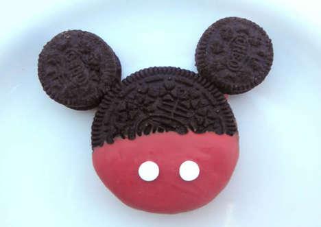 Cartoon Mouse Cookies