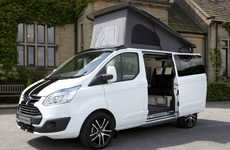 Versatile Camping Vans - The Ford Terrier Bianco Offers Performance and Comfort