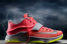 Meteorology-Inspired Kicks - The NIKE KD7 Shoes Come Fully Equipped