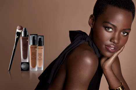 Dark-Skinned Beauty Ads