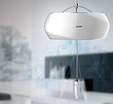 Wind Chime Air Purifiers - Wind Bell by Kim Edo Dispenses Aromas in a Charming Way