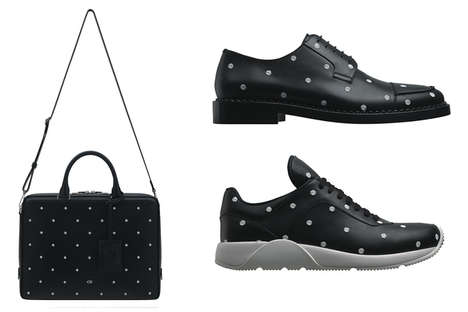Polka Dot-Pattered Menswear - The Dior Homme Winter 2014 Accessory Collection is Full of Spots