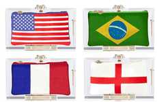 Football Fanatic Clutches - This World Cup Clutches Capsule Collection Lets You Support Your Team