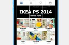 Interactive Mobile Catalogs - IKEA PS 2014 on the Move Was Presented in Full on Instagram