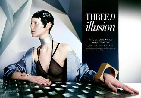 Futuristic Glam Editorials