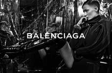 Buzzed Cut Fashion Ads - The Balenciaga Fall 2014 Campaign Stars Model Gisele Bundchen