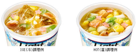 Icy Instant Noodles