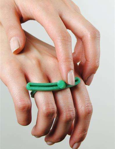Fidgeter-Friendly Rings - Meg Dattoria Created Fidget Rings to Help Control Anxious Bodily Functions