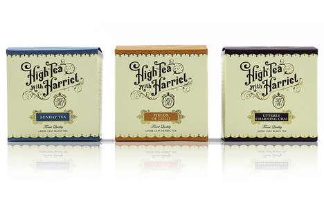High Class Tea Branding