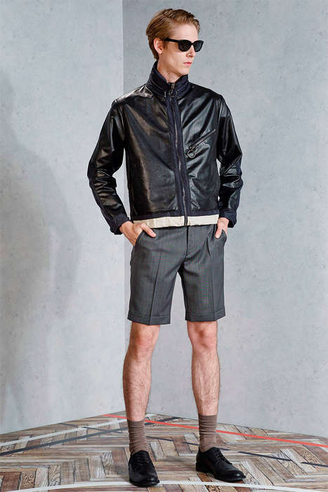 Rebellious Prepster Lookbooks - The Viktor & Rolf Spring/Summer 2015 Collection is