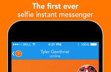 Selfie Messaging Apps - iOS Messenger App React Lets You Have Entire Conversations of Just Selfies