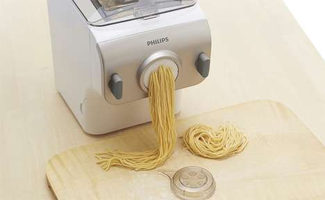 Speedy Noodle Makers - The Compact Philips Noodle Maker Makes Pasta Within 15 Minutes