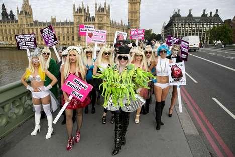 Political Pop Star Rallies
