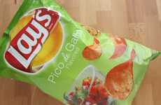 Salsa-Flavored Potato Chips - The Newest Lay's Chips Taste Like Spicy, Tangy Pico de Gallo