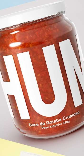 Pensive Preserve Packaging - The Concept Branding for HUMMM Shows Off Four Delicious Jam Flavors