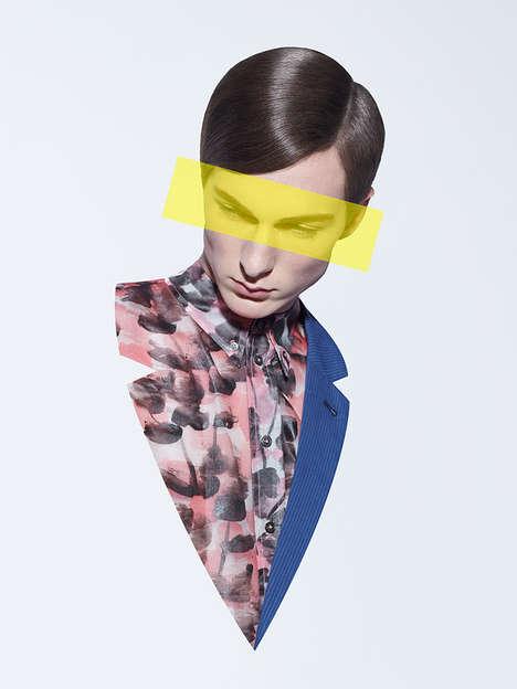 Fragmented Pop Art Editorials
