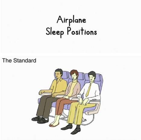Sleeping Positions Series