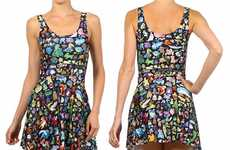 Comprehensive Anime Dresses - Poprageous' Pokemon Anime Dress Features All of the Pocket Monsters