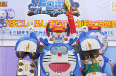 Super Robot Anime Toys - This Bandai Transformer Toy is Assembled from Multiple Anime Characters