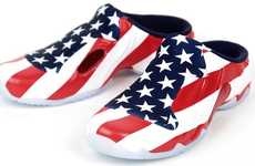 Patriotic Slip-On Sneakers - These Nike Solo Slide QS are the Perfect Pair of Fourth of July Shoes