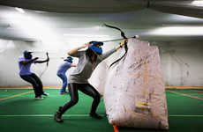 Bow-and-Arrow Sports - Archery Tag Lets People Channel Their Inner Katniss