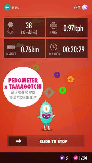 Virtual Pet Pedometers