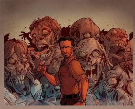 Comic Character Illustrations