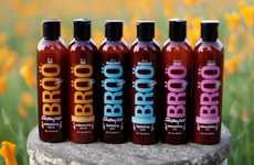 Bizarre Beer Shampoos - The BRÖÖ Hair Shampoos are Infused with Handcrafted Ale