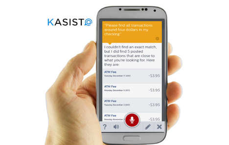 Banking Assistant Apps - The Kasisto Virtual Personal Assistant is Intelligent and Simple to Use