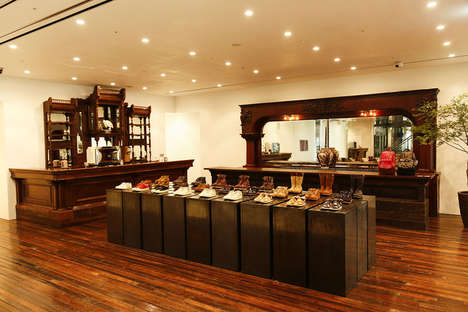 Vintage Wooden Boutiques - The Visvim Flagship Store Houses a Coffee Shop