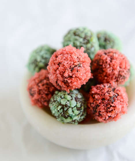 Explosive Candy Truffles - Blogger HowSweetEats Infuses Pop Rocks into Chocolate Truffles