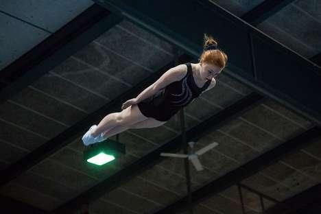 Aerial Gymnast Photography