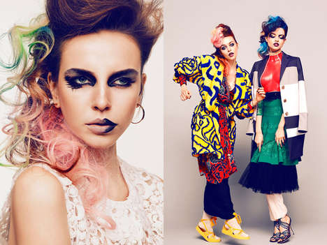 Daring Dress-Up Editorials - L'officiel Ukraine's Latest Coverstory Embraces Visually Vivid Styling