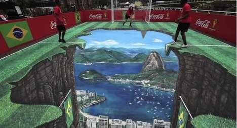 Illusory Sports Street Art
