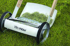 Clippings-Catching Push Mowers