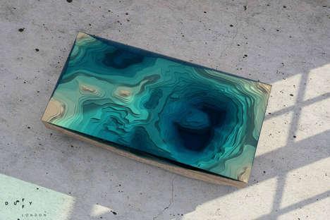 Layered Seascape Furnishings