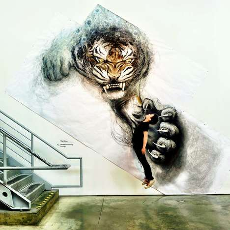 Captivating Animal Murals