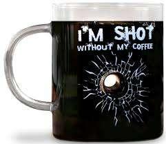 Bullet Hole Coffee Mugs