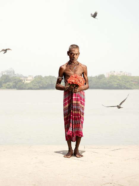 Indian Market Portraits