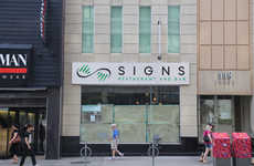 Sign Language Eateries - Signs Restaurant in Toronto is Meant to Create Jobs for Deaf Individuals