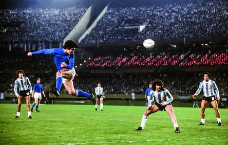 Retro Soccer Photography