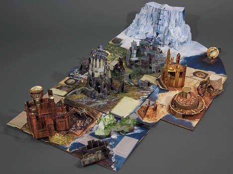 Fantasy World Pop-Up Books
