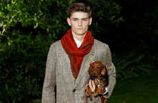 Debonair Millionaire Runways - The Berluti Spring/Summer 2015 Collection is Elegantly Suited