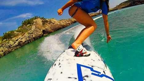 Versatile Electric Surfboards