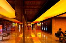 Glowing Amber Bars - This Jean Nouvel Design Revives Century-Old Structures in an Old Brewery